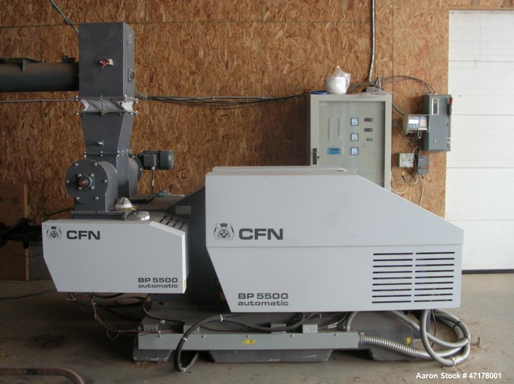 Used- CF Nielsen Biomass Briquetter, Model 5500 HD (Heavy Duty).