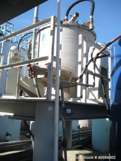 Used-Western States basket centrifuge. 48 x 30.