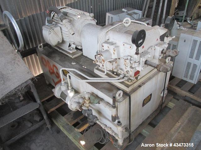 """Used- Ametek 48"""" Batch-Master Basket Centrifuge. Hastelloy C276 product contact surfaces, 304/316 stainless steel non-contac..."""