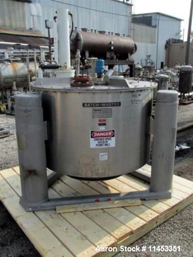 "Used- Ametek 48"" Batch-Master Basket Centrifuge. Hastelloy C276 product contact surfaces, 304/316 stainless steel non-contac..."