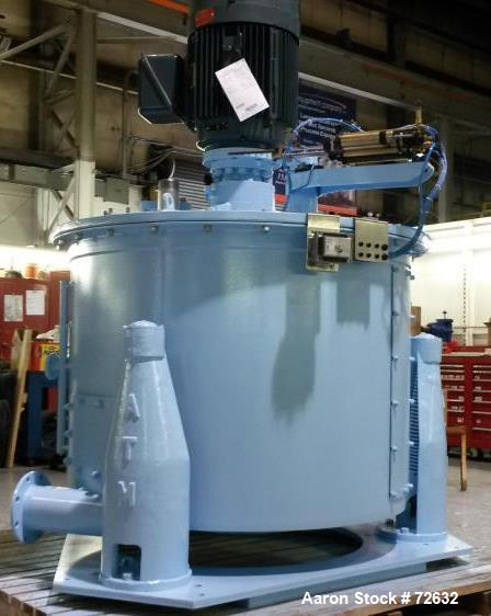 "Reconditioned- Delaval ATM 48"" x 30"" Perforated Basket Centrifuge"