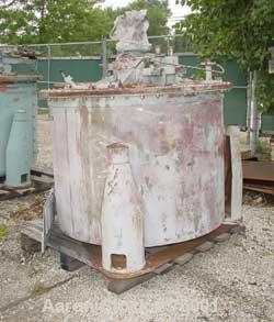 Used- Delaval/ATM Mark III Clarifier Solid Basket Centrifuge. Tri-pod suspension system, top cover with inspection door, seg...