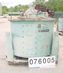 Used- Stainless Steel Delaval/ATM Clarifier Solid Basket Centrifuge