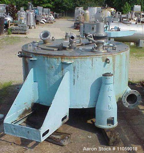 Used- Stainless Steel Delaval/ATM Basket Centrifuge