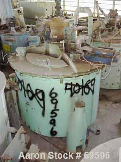 "USED: Delaval/ATM Mark III solid bowl basket centrifuge, 48"" x 30"", 304 stainless steel. Max bowl speed 1380 rpm, max capaci..."