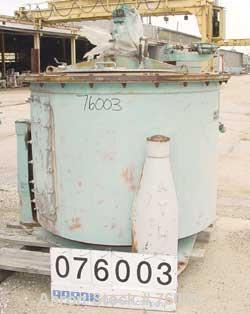 Used-Stainless Steel Delaval/ATM Clarifier Solid Basket Centrifuge