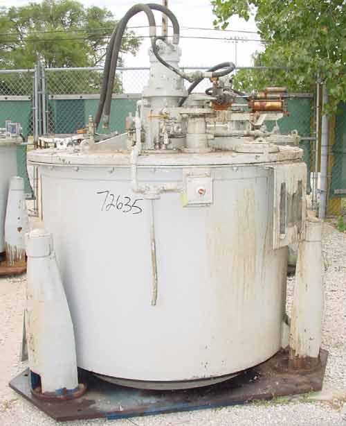 Used- Stainless Steel Delaval Perforated Basket Centrifuge
