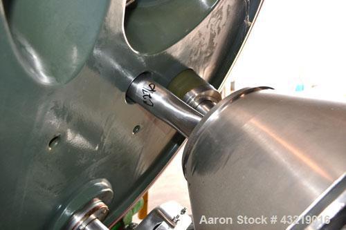 Used- Ferrum AG Basket Centrifuge, Model PUT 1200