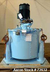 """Reconditioned- Delaval ATM 48"""" x 30"""" Perforated Basket Centrifuge"""