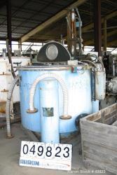 Used- Carbon Steel/Stainless Steel Tolhurst Perforated Basket Centrifuge
