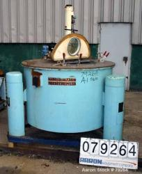 Used- Stainless Steel Tolhurst Perforated Basket Centrifuge