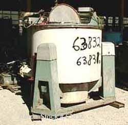 Used- Stainless Steel Western States Solid Bowl Basket Centrifuge
