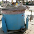 Used- Delaval/ATM Perforated Basket Centrifuge