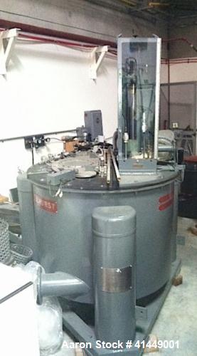 Used- Stainless Steel Tolhurst Batch Master Perforated Basket Centrifuge