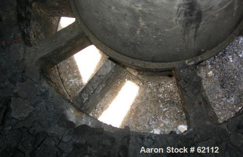 Used- Stainless Steel Tolhurst Batch-O-Matic Solid Bowl Basket Centrifuge
