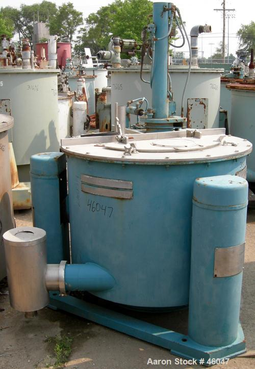 Used- Stainless Steel Tolhurst Batchmaster Basket Centrifuge
