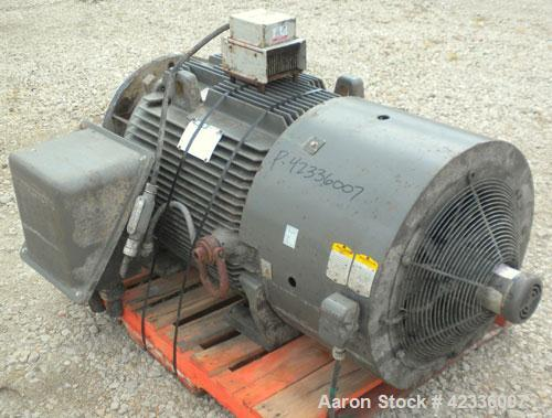 Used- Western States 54'' x 40'' Series G A-Frame Perforated Basket Centrifuge. Top load, bottom dump 304 Stainless/Carbon s...