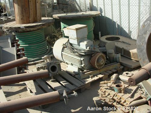 "USED: Krauss-Maffei peeler centrifuge, model HZ-125 SI. The basket measures 49"" (1250mm) diameter x 24.5"" (625mm) depth prov..."