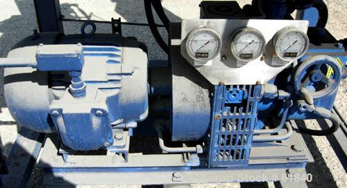 Used- Krauss Maffei HZ-40SI Peeler Centrifuge. 316 Stainless steel construction. Maximum bowl speed 3000 rpm, siphon skimmer...