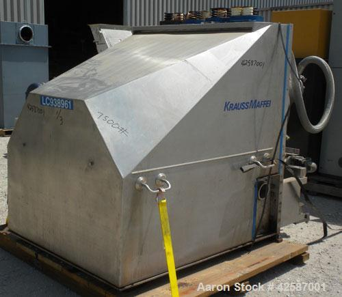 Used- Krauss Maffei Peeler Centrifuge, Model HZ630 Ph