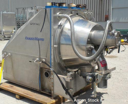 Used- Krauss Maffei Peeler Centrifuge, Model HZ630 Ph