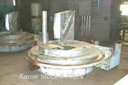 """USED: Reineveld 83"""" peeler centrifuge, stainless steel construction(product contact areas). Max bowl speed 800 rpm, 83"""" diam..."""