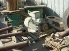 USED: Krauss-Maffei peeler centrifuge, model HZ-125 SI. The basket measures 49