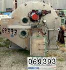 Used- Stainless Steel Robatel Peeler Centrifuge, Model EHII-1320
