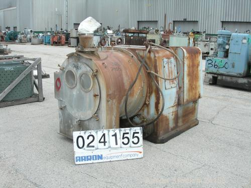 Used- Stainless Steel Alfa Laval Single Stage Pusher Centrifuge, Model SB600