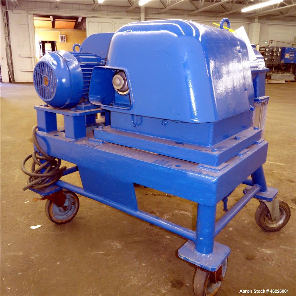 Used- Alfa Laval VS-160 G-K Pusher Centrifuge, 316 stainless steel.