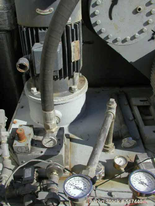 Used- Stainless Steel Bird Pusher Centrifuge