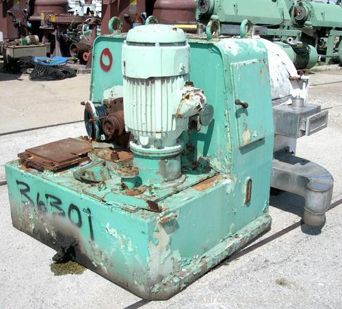 Used- Stainless Steel Krupp Single Stage Pusher