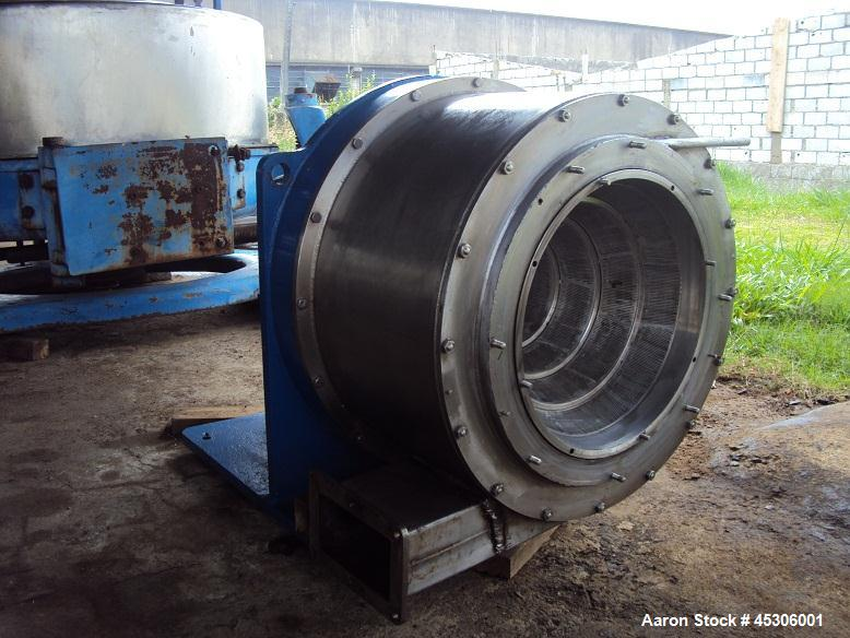Used- Siebtechnik Turbo-Cascade Centrifuge, Model C400