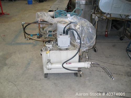 Used- Stainless Steel Comi Condor Inverting Bag Filter Centrifuge, Model HT-600