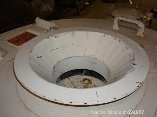 USED: CSI WSM-04 continuous screen centrifuge. 7.11 square feet of screening area, standard bar screen air gap .020, 1/2 hp ...