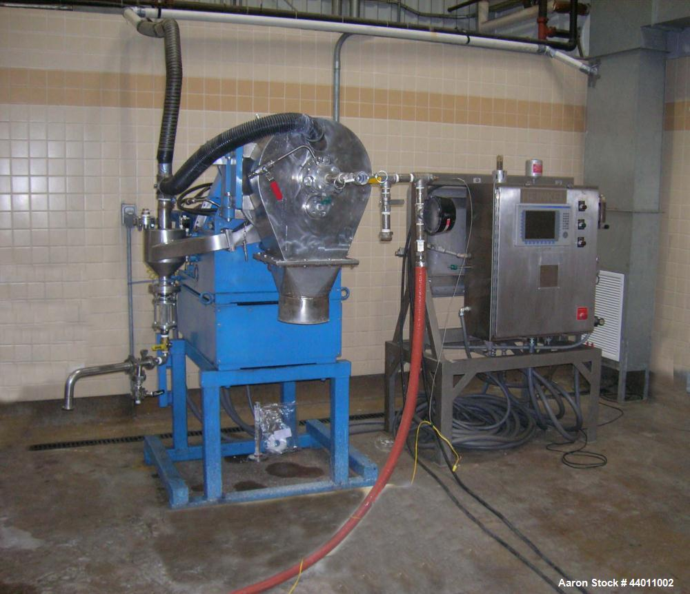 Used-Heinkel Inverting Filter Centrifuge, Model HF-300, complete with PLC control systemand operator station.  The control s...