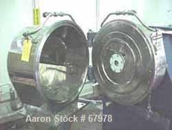 """Used- Heinkel HF-300 Inverting Filter Centrifuge, 316 stainless steel construction (product contact areas), 300mm (12"""") bask..."""