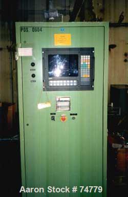 USED: Heinkel HF-600 Hastelloy C4 Inverting Filter Centrifuge. Pharmaceutical grade finish, max bowl speed 1900 rpm, G force...