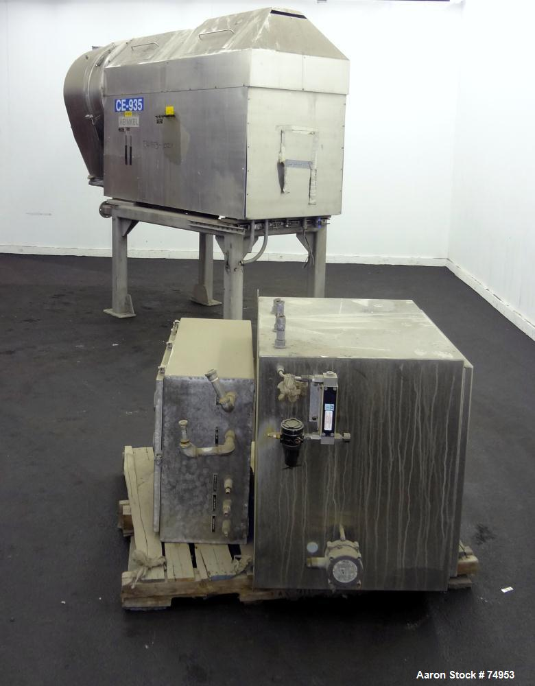 Used- Stainless Steel Heinkel Inverting Filter Centrifuge