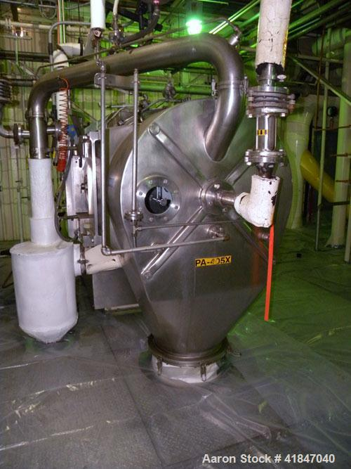 Used- Stainless Steel Heinkel HF-800.1 Inverting Filter Centrifuge