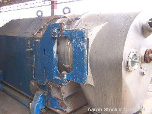 Used- Stainless Steel Heinkel Inverting Filter Centrifuge, Model HF-800