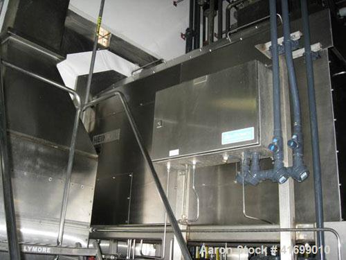 Used- Heinkel Centrifuge, Model HF600-1, Hastelloy C22 (product contact sufaces). Rated 571/65 KG load. Includes drum liftin...