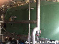 Used- Heinkel HF-600 Inverting Filter Centrifuge. 316 Stainless Steel. Pharmaceutical grade finish. Maximum bowl speed 1936 ...