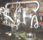 Used-Heinkel Inverting Centrifuge, Model HF600. 316 stainless steel, pharmaceutical grade finish. Max bowl speed 1936 rpm. D...