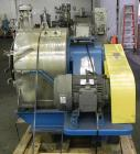 Used- Tema H350 Conturbex Horizontal Worm/Screen Centrifuge. 316 Stainless steel construction on product contact areas. 10 D...