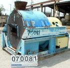 USED: Tema HSG-1100 screening centrifuge, carbon steel. Constant angle bowl design, 48