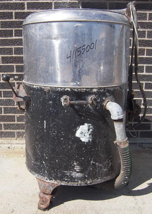 "Used- Bock Centrifugal Extractor, 17"" x 9"" Perforated Basket Centrifuge, Model 24-BC41584, 304 Stainless Steel Bowl. 430/40 ..."