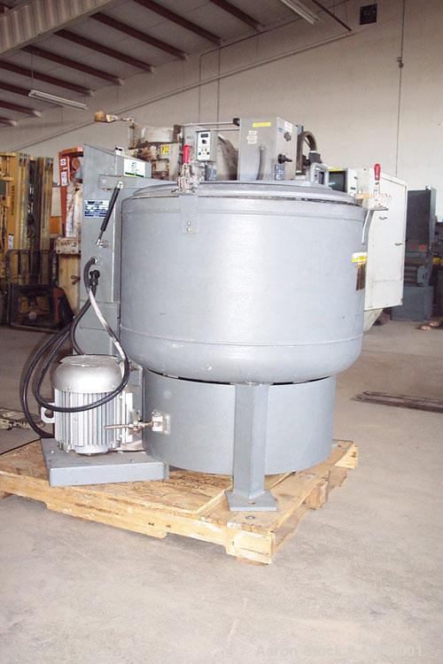 "Used-Bock Centrifuge, Model 805TX.30"" Diameter, stainless steel basket and housing. Manufactured 1999.."