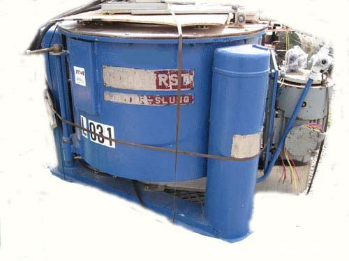 "Used- Ketema Tolhurst Basket Centrifuge, top load and unload, 316L stainless steel product contact surfaces, 30"" diameter x ..."