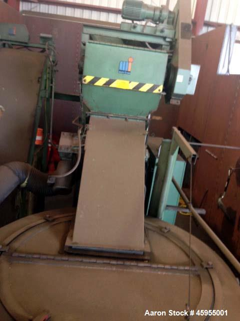Used- Mayfran Chip Wringer System, Model TD 5000. (Chip wringers (or chip centrifuges) dry chips from machining or grinding ...